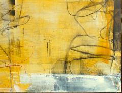 Elliot Twelvetrees American Modern Abstract Expressionist Mixed Media on Board Elliot Twelvetrees - 1349697