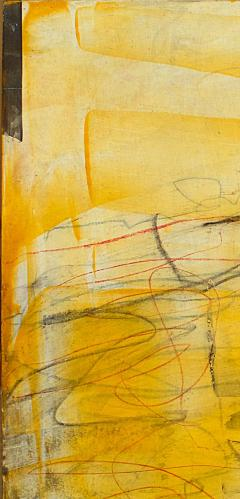 Elliot Twelvetrees American Modern Abstract Expressionist Mixed Media on Board Elliot Twelvetrees - 1349698