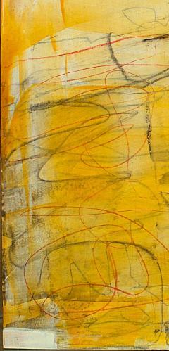 Elliot Twelvetrees American Modern Abstract Expressionist Mixed Media on Board Elliot Twelvetrees - 1349699