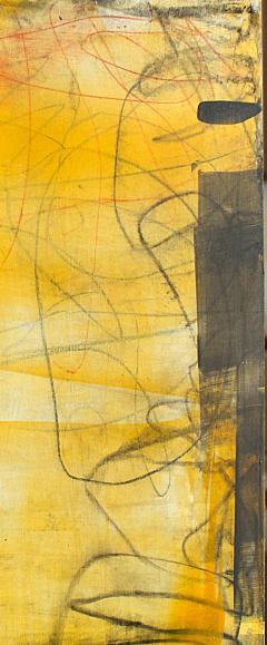 Elliot Twelvetrees American Modern Abstract Expressionist Mixed Media on Board Elliot Twelvetrees - 1349700