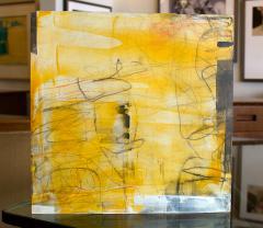 Elliot Twelvetrees American Modern Abstract Expressionist Mixed Media on Board Elliot Twelvetrees - 1349707