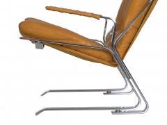 Elsa Nordahl Solheim Vintage Modern Leather Pirate Lounge Chair by Elsa Nordahl Solheim - 1163293