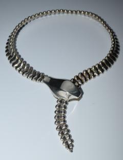 Elsa Peretti Tiffany Elsa Peretti Snake Necklace 1985 - 739198