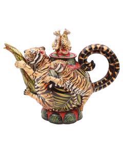 Elvis Bonginkosi Mkhize Tiger Teapot - 1626170