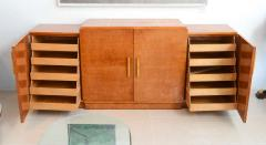 Ely Jacques Kahn Late Art Deco Birds Eye Maple and Maple Inlaid Credenza Eli Jacques Kahn - 41185