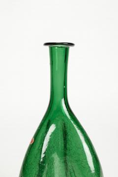 Emboli Vase with Craquel glass Italy 50s - 2067347