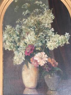 Emil Carlsen Snapdragons and Other Flowers in Two Vases - 1714428