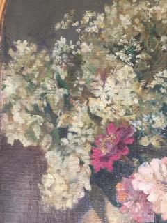 Emil Carlsen Snapdragons and Other Flowers in Two Vases - 1714430
