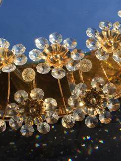 Emil Stejnar Illuminated Floral Crystal Mirror by Palwa - 449931