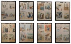 Emile Deyrolle 8 French Posters for Accident Prevention by Les Fils d Emile Deyrolle Paris - 1675573