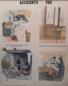 Emile Deyrolle 8 French Posters for Accident Prevention by Les Fils d Emile Deyrolle Paris - 1675578