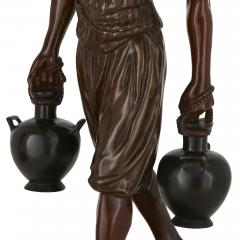 Emile Pinedo Two Orientalist patinated bronze sculptures by Debut and Pinedo - 1290523