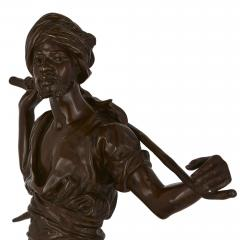 Emile Pinedo Two Orientalist patinated bronze sculptures by Debut and Pinedo - 1290531
