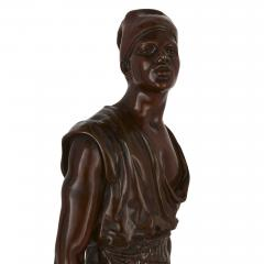 Emile Pinedo Two Orientalist patinated bronze sculptures by Debut and Pinedo - 1290532