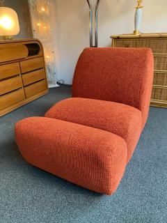 Emilio Guarnacci Pair of Paloa Chairs by Emilio Guarnacci for 1P Italy 1970s - 1581907