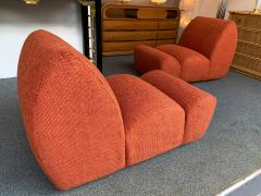 Emilio Guarnacci Pair of Paloa Chairs by Emilio Guarnacci for 1P Italy 1970s - 1581910