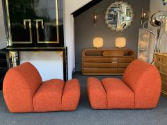 Emilio Guarnacci Pair of Paloa Chairs by Emilio Guarnacci for 1P Italy 1970s - 1581911
