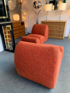 Emilio Guarnacci Pair of Paloa Chairs by Emilio Guarnacci for 1P Italy 1970s - 1581913