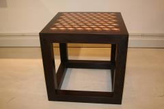 Emily Summers Studio Line Handcrafted End Table with Inlay Detail - 665179