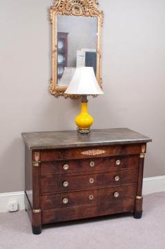 Empire Commode with Faux Marble Top - 1198066