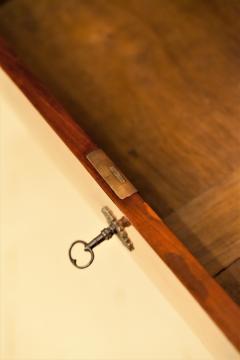 Empire Crotch Mahogany 4 Drawer Commode Chest Circa 1820 France - 1732213