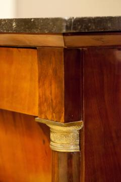 Empire Crotch Mahogany 4 Drawer Commode Chest Circa 1820 France - 1732216