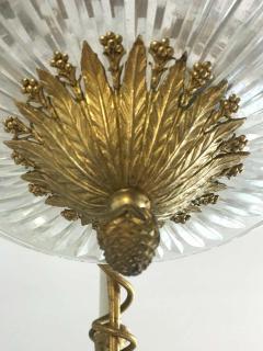 Empire Gilt Bronze and Cut Crystal Chandelier circa 1815 - 1445723