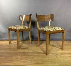 Empire Maple Rootwood Klismos Chair c1940 Crewel Fabric - 1806023