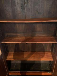 Empire Restauration Bookcase Cherry Wood Brass Fittings France circa 1810 - 1907593