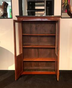 Empire Restauration Bookcase Cherry Wood Brass Fittings France circa 1810 - 1907599