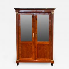 Empire Restauration Bookcase Cherry Wood Brass Fittings France circa 1810 - 1937372