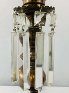 Empire Style English Hurricane Table Lamps - 1729891