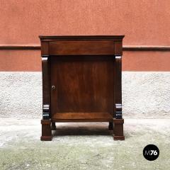 Empire style mahogany cabinet 1850s - 2034704