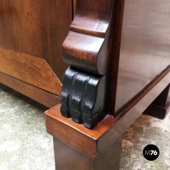 Empire style mahogany cabinet 1850s - 2034710