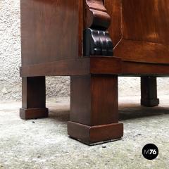 Empire style mahogany cabinet 1850s - 2034716