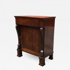 Empire style mahogany cabinet 1850s - 2036358