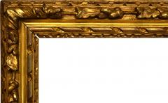 English 1690 Lely Carved Gilt Picture Frame 27x35  - 1120591