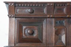 English 17th Century Charles II Oak Chest of Drawers - 619861