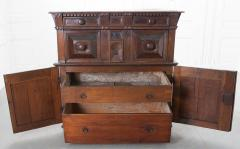 English 17th Century Charles II Oak Chest of Drawers - 619867