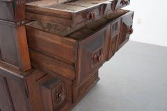 English 17th Century Charles II Oak Chest of Drawers - 619868