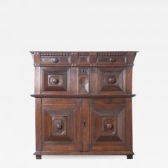 English 17th Century Charles II Oak Chest of Drawers - 620144