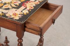 English 18th Century Jacobean Style Oak Side Table - 1058120