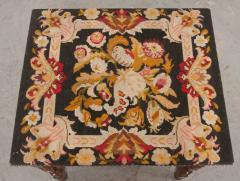 English 18th Century Jacobean Style Oak Side Table - 1058121