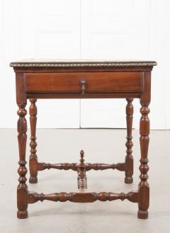 English 18th Century Jacobean Style Oak Side Table - 1058124