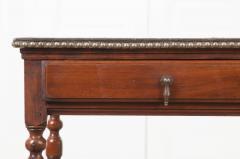 English 18th Century Jacobean Style Oak Side Table - 1058125