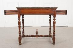 English 18th Century Jacobean Style Oak Side Table - 1058128
