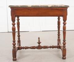 English 18th Century Jacobean Style Oak Side Table - 1058129