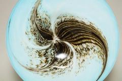 English 1950s Art Glass Seed Pod Charger - 664809