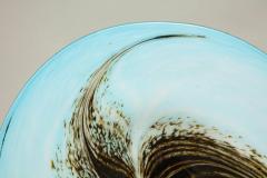 English 1950s Art Glass Seed Pod Charger - 664810