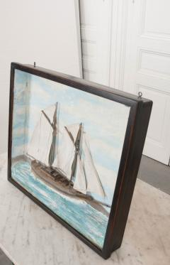 English 19th Century Nautical Diorama - 1114210